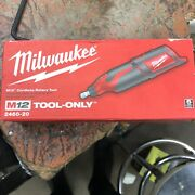 Milwaukee M12 12v Compact Rotary Tool Model 2460-20 Tool Only