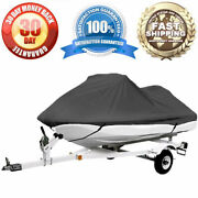 Waterproof Pwc Cover Fit For 127and039and039 - 135and039and039 Long Personal Watercraft 600 Denier