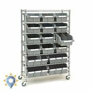 Rack Free Standing Storage Kitchen Pull Organizer Commercial Grade Shelving Tier