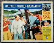 The Truth About Spring--1965 Movie Theater Lobby Card--hayley Mills John Mills