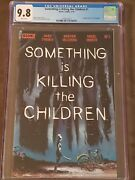 Something Is Killing The Children 1 Cgc 9.8 - 1st Print - Sold Out