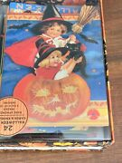 New Punch Studio Halloween Greeting Cards 15 Cut-out Cards Vintage Look Read
