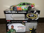 Kyle Busch 2015 Champion Homestead Raced Win Signed By Kyle And Samantha 124