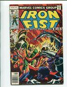 Iron Fist 15 - 1st Appearance Of Bushmaster - Cockrum And Claremont