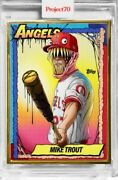 Mike Trout Angels - Topps Project 70 Card79 Artist Alex Pardee Mint On Sale