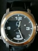 Vintage Anonimo Day Date Watch Gold Bezel Limited Edition Number 30/99 Made.