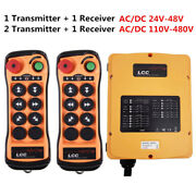 Hoist Tower Crane Industrial Wireless Remote Control Transmitter And Receiver