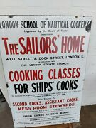 Vintage Collectable Advertising Enamel Sign In Excellent Condition