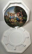 Mj Hummel Collector Plate Apple Tree Boy And Girl 1989 Little Companions