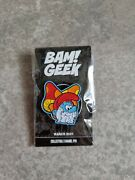 Bam Box Geek Retro Limited Exclusive Papa Smurf Pin Badge Brand New Sealed