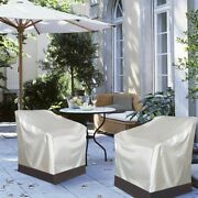 1 X Waterproof Chair Cover Outdoor Furniture Tarpaulin Grill Protective Cover