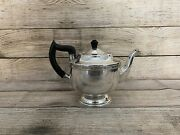 Vintage Viners Of Sheffield Alpha Plate Tea Pot Made In England Used