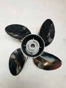 Solas Propellers Omc Johnson Evinrude 4 Blade Stainless Steel 14x21