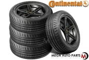 4 Continental Contisportcontact 2 255/35r20 97v Xl Uhp Performance Summer Tires