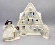 Disney And Department 56 Snow White And The Seven Dwarfs Snowbabies