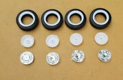 Amt 1/25 1959 Chevy El Camino Stock Rims And Whitewall Tires