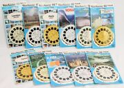 View Master 3-d Tour Tourist Destinations Vacation Locations 33 Reels Sealed