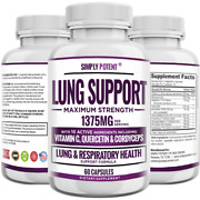 Lung Support Supplement For Respiratory Health Lung Cleanse And Detox