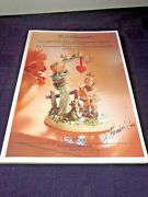 1998 The Fascinating World Of Mj Hummel Figurines Guide For Collectors Signed
