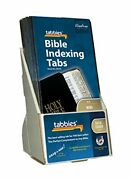 Tabbies 20 Pack With Display Mini Gold-edged Bible Indexing Tabs Old And New Te...