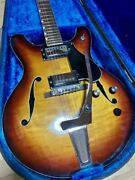 Used Yamaha Sa-30t Mij Vintage Electric Guitar Great Playing Condition W/ohsc