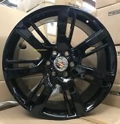26and039and039 Wheels Fit Escalade Platinum Gloss Black With Tires Silverado Gmc Yukon New