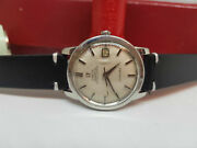 Rare 1968 Omega Seamaster Chronometer Silver Dial Date Auto Cal561 Manand039s Watch