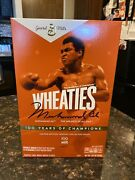 Ships Free Today Wheaties 2021 Century Collection Gold Box 1 Muhammad Ali