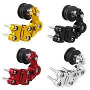Universal Portable Motorcycle Adjuster Chain Tensioner Bolt On Roller Tool Us U8