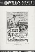The Purple Mask Pressbook, Tony Curtis, Colleen Miller +lobby Card Set And Poster