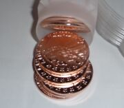 Tube Of 20 1oz Incuse Indian Copper Round, Just Minted Nice And Shiny