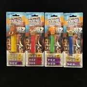 Pez Ice Age 2 Lot Of 4 Manny Scrat Diego Sid 2006 New On Card Blister Packs