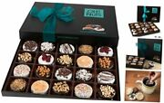 Chocolate Covered Cookie Gift Baskets 20 Variety Gourmet Assortment Chocolate