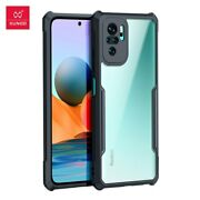 For Redmi Note10 10 Pro 10s 10 5g Case Cover Transparent Bumper Shockproof Airb