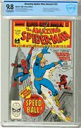 Amazing Spider-man 22 Annual Cbcs 9.8 Nmmt 1988  Off White/wht Pgs 1st Ap