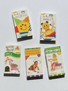Vintage 90s Baby Vhs Lot 5 Tapes Baby Einstein, Baby Mozart, Brainy Baby