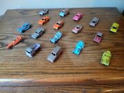 Vintage Tootsie Toy Die Cast Cars And Trucks Lot Of 17