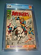 Avengers 48 Cgc 7.0 Ow/w Key 1968 1st Dane Whitman Black Knight Andcover Eternals