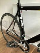 Cervelo P3 With P2 Decals Ironman Tt Carbon Frame Stealth Black 51cm