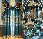 Embroidered Curtain Screens Window Treatments Chinese Style Home Curtains Blinds