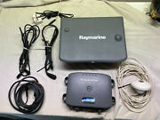 Raymarine C120 And Dsm250 Gps Antenna And Cables