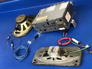 1968 69 Buick Gsx Skylark Delco Am/fm Radio Kit W/fader Harness And Two Speakers