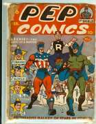 Pep Comics 36 0.5 // First Cover Appearance Of Archie In Pep Comics 1943