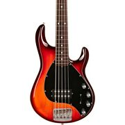 Ernie Ball Music Man Stingray5 Special H Rosewood Fingerboard Bass Burnt Amber