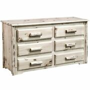 Great Lakes Collection 6 Drawer Dresser Off-white 6-drawer