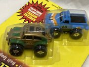 Stomper Minis Rare Sealed Volkswagen Bug Chevy Scottsdale 4x4 Tyco Aaa Battery