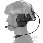 Fcs Tactical Military Rac Rail Attached Communication Noise Reduction Headset