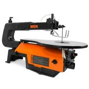 Scroll Saw 16-inch Variable Speed Smooth Cutting With Easy-access Blade Changes