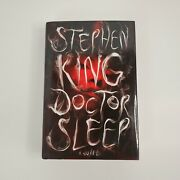 Doctor Sleep Stephen King Signed Redrum Dust Cover 1st Edition No Coa