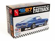 Pre Order Amt 1/25 1967 Ford Mustang Gt First Back Plastic Model Amt1241